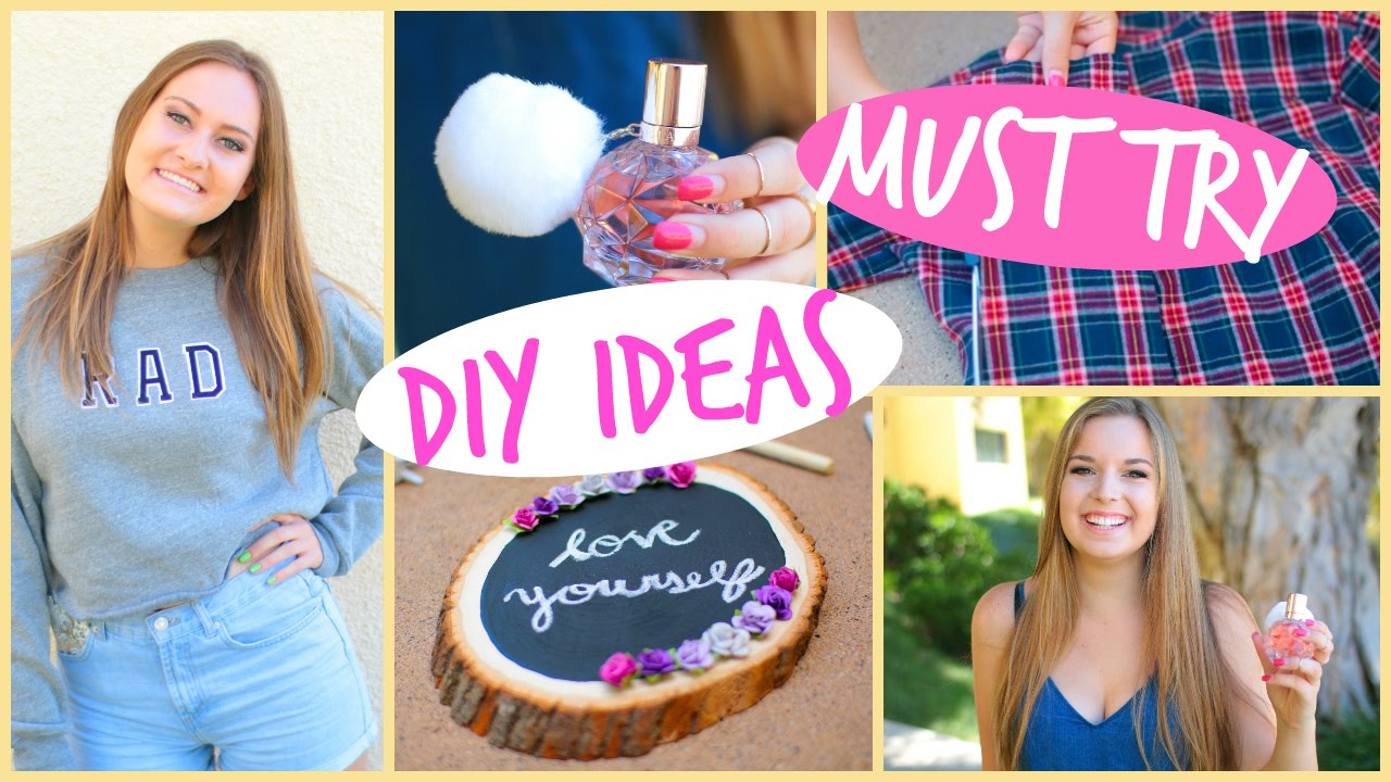 DIY crafts for girls