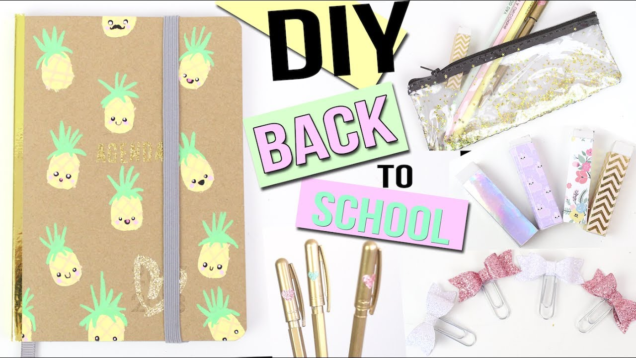 DIY Back To School Supplies