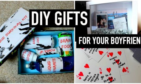 DIY Gift Ideas For Boyfriend