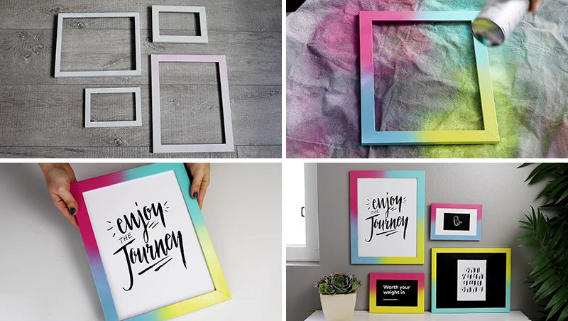 DIY Photo Frames