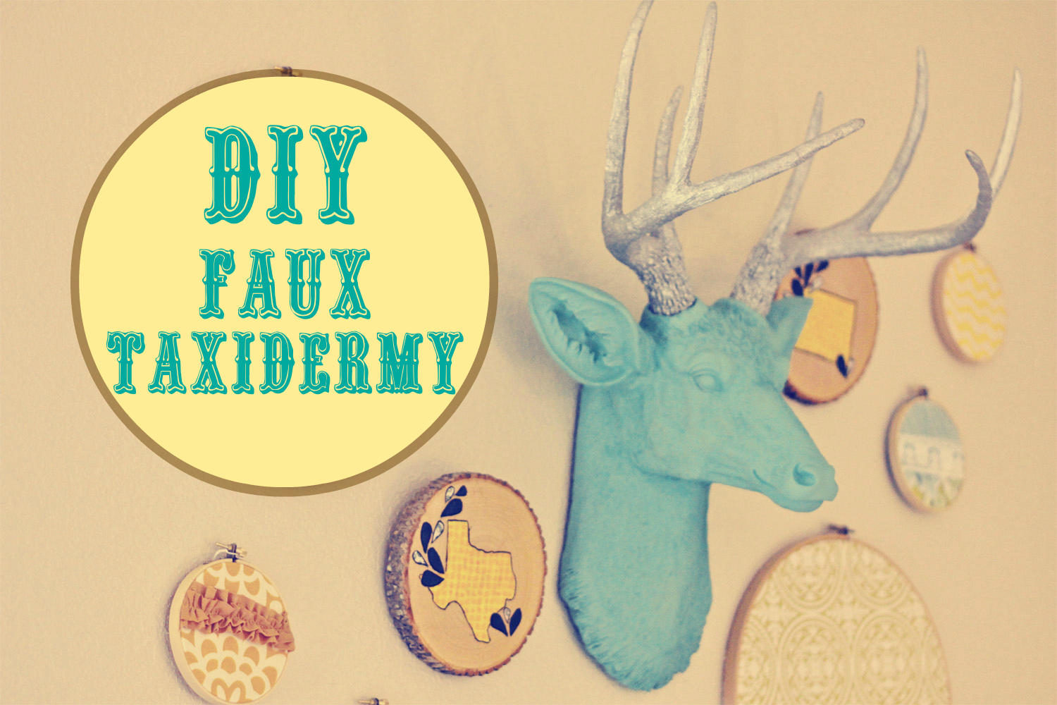 Fake Taxidermy DIY