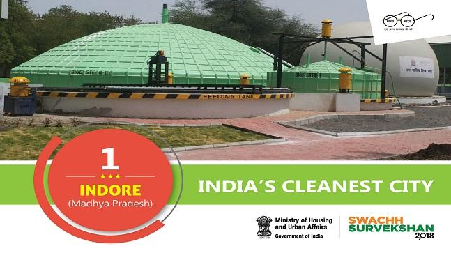 list of cleanest cities in india 2019