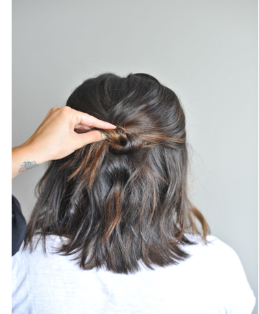 Do It Yourself Updo's For Short Hair