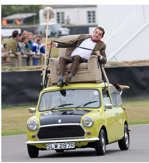 Do-It-Yourself Mr. Bean