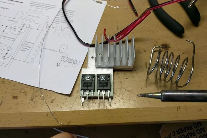 DIY Induction Heater