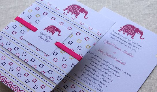 DIY Indian Wedding Cards