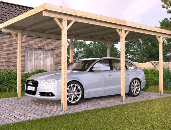 Affordable DIY Carport