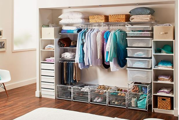 Affordable DIY Closet