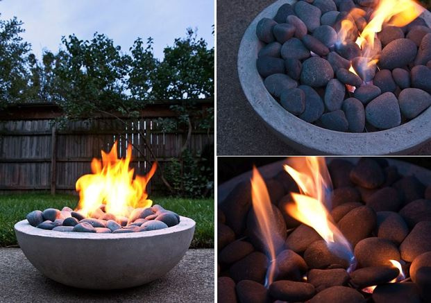 Affordable DIY Fire Pit