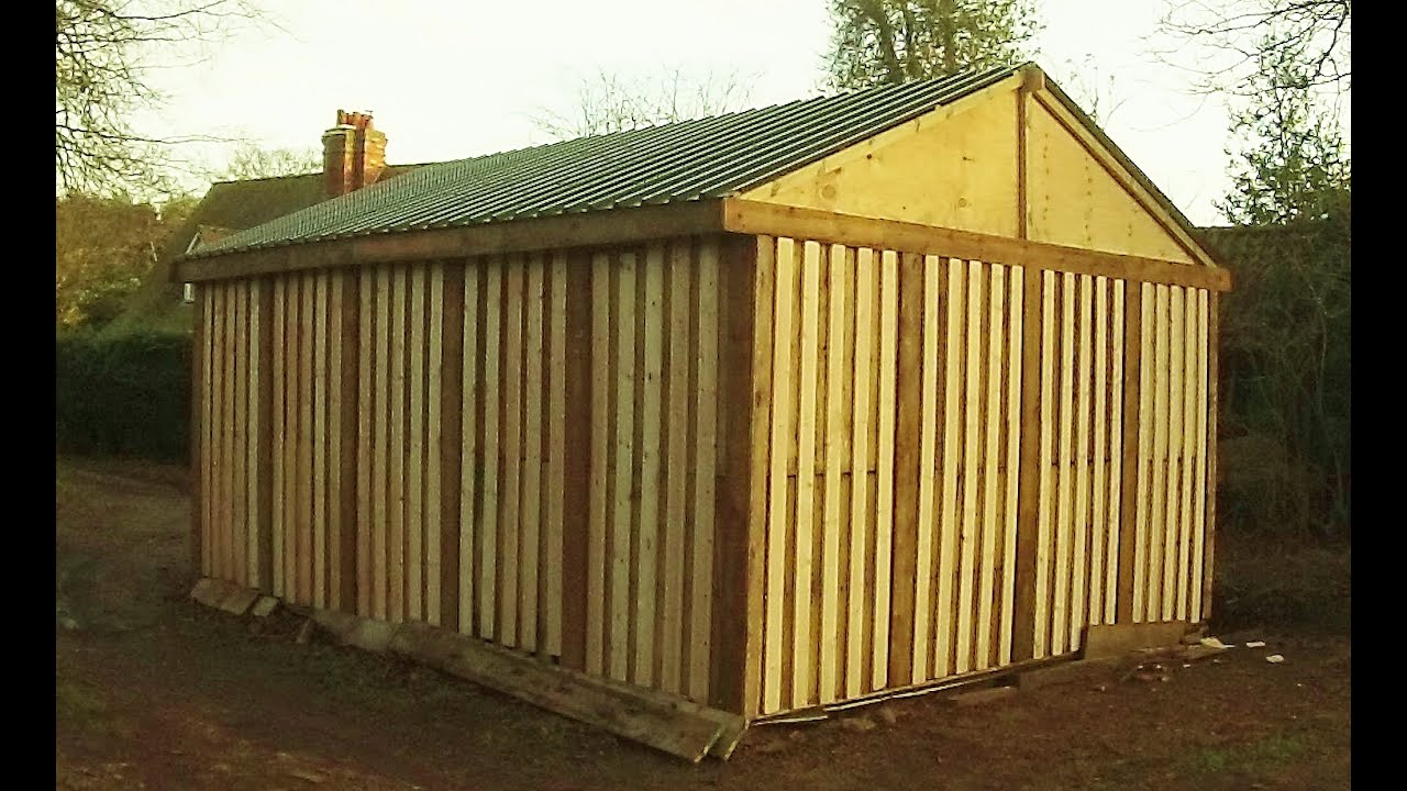 Affordable DIY Sheds
