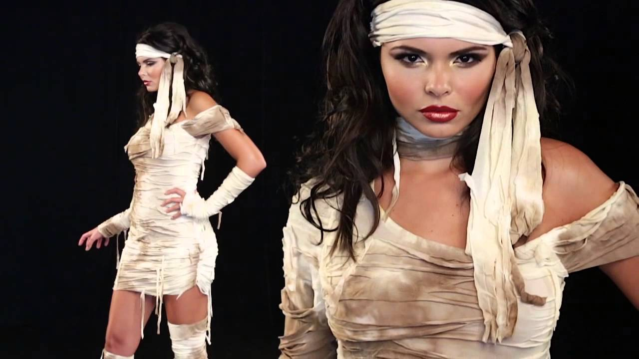 Sexy Mummy Costume DIY Ideas