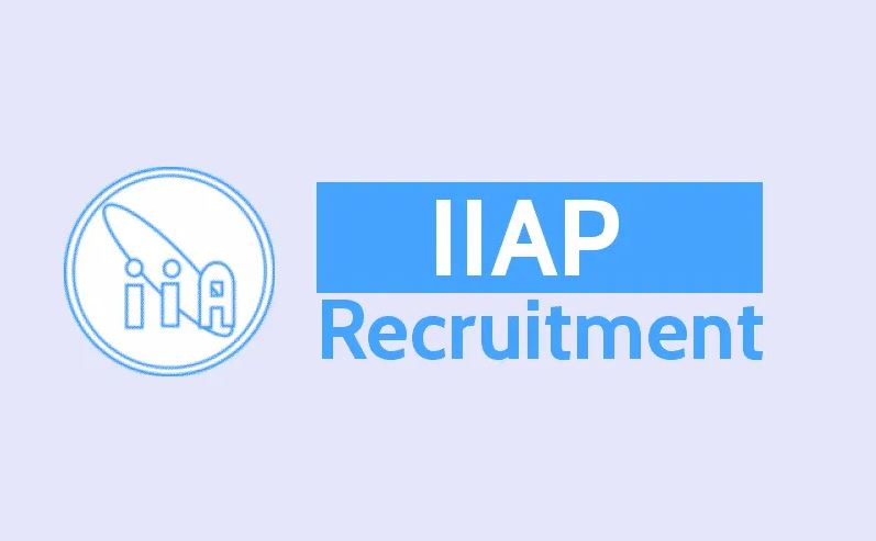 WWW.IIAP.RES.IN Recruitment 2019