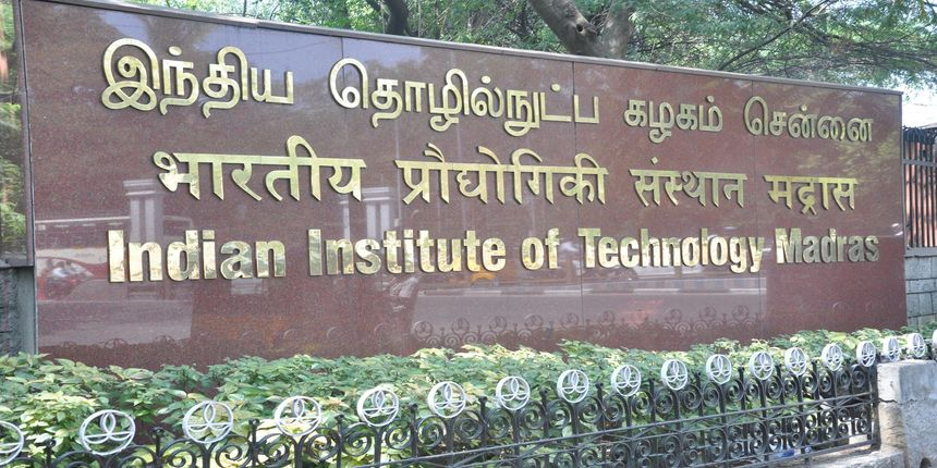 IIT Madras M.Tech Admission 2020