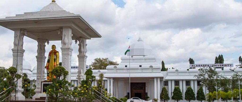 Alagappa University Result 2019 Affiliated Colleges